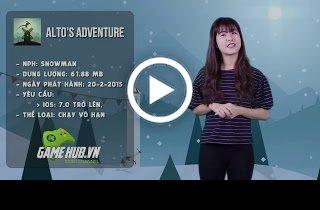 Alto's Adventure - Trượt tuyết xuyên mưa nắng, ngày đêm - iOS